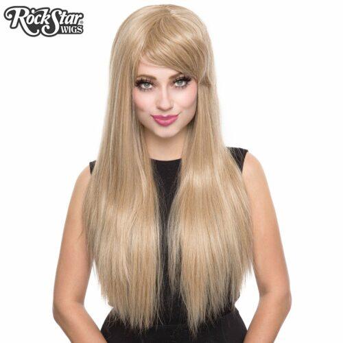 Perruque blonde léger femme