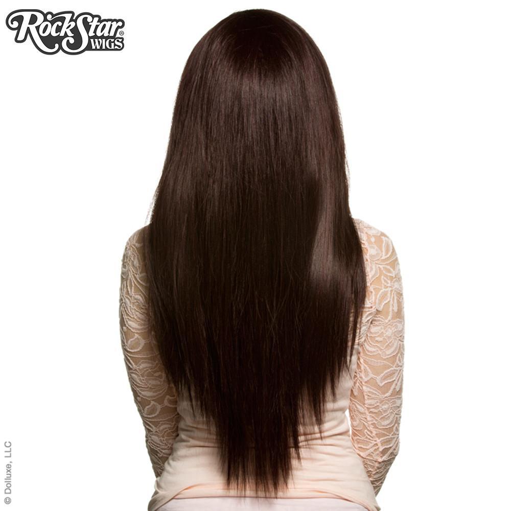perruque auburn de dos