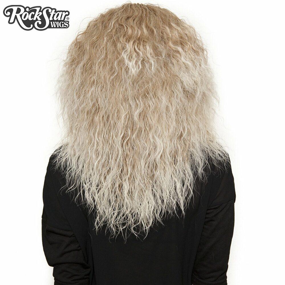 Perruque blonde rhapsody arrière coupe droite