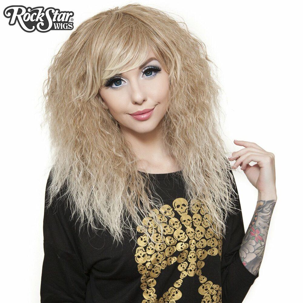 Perruque blonde rhapsody femme homme