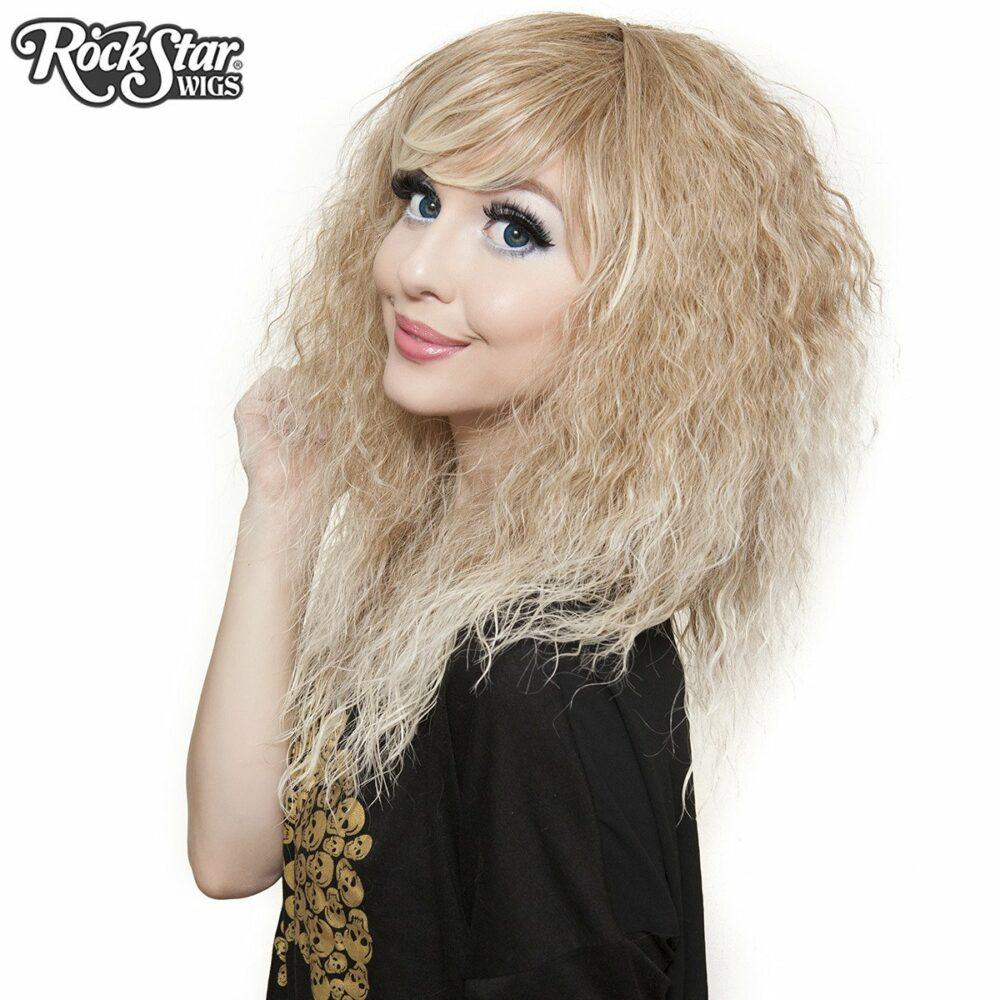 perruque blonde rhapsody drag queen