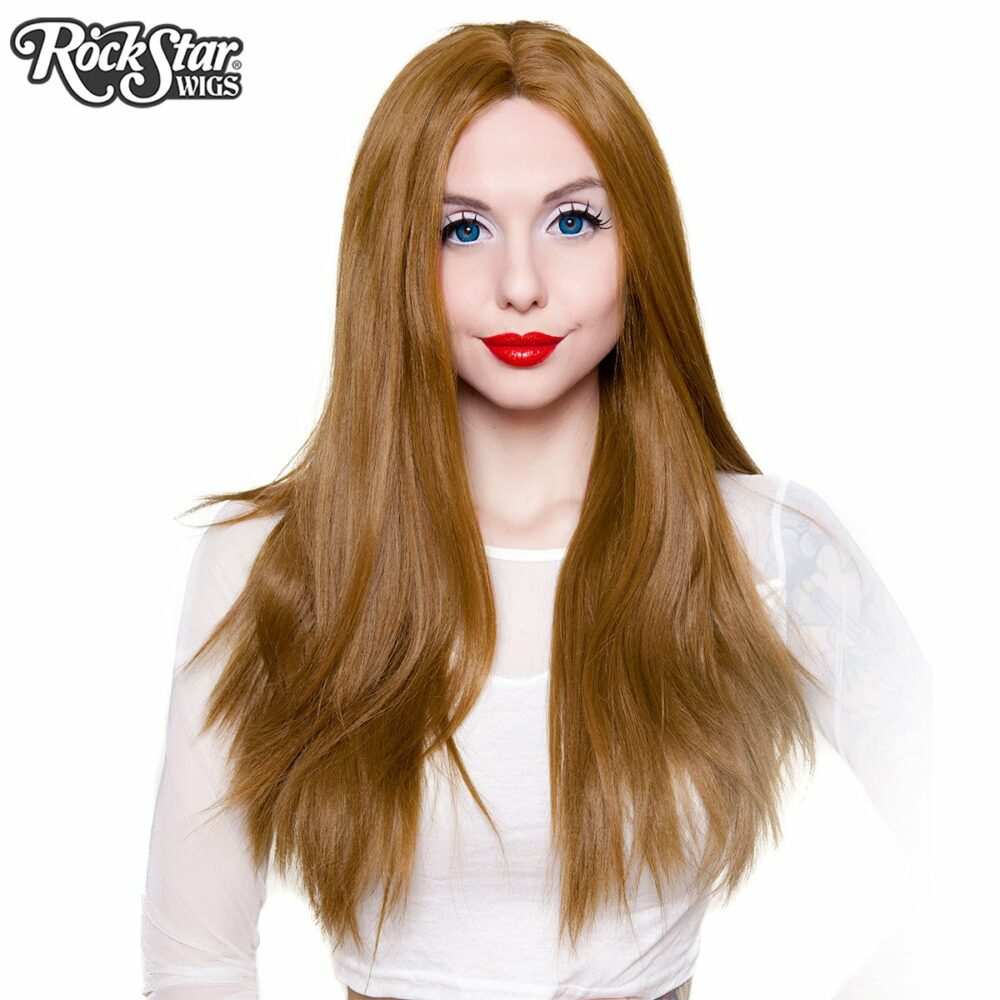 Perruque chatain lace front femme homme