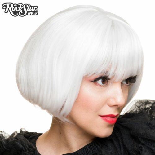 perruque blanche drag queen