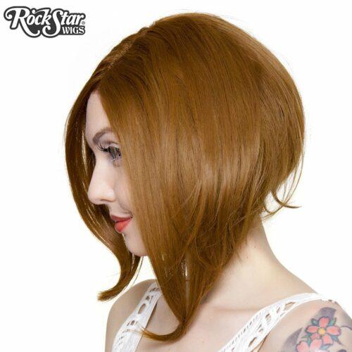 perruque châtain femme homme lace front