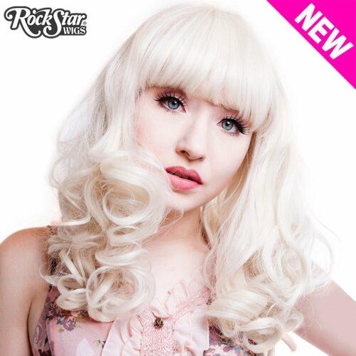 Perruque blonde pour cosplay et drag queen