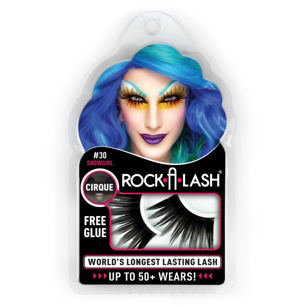 emballage faux cils rock a lash