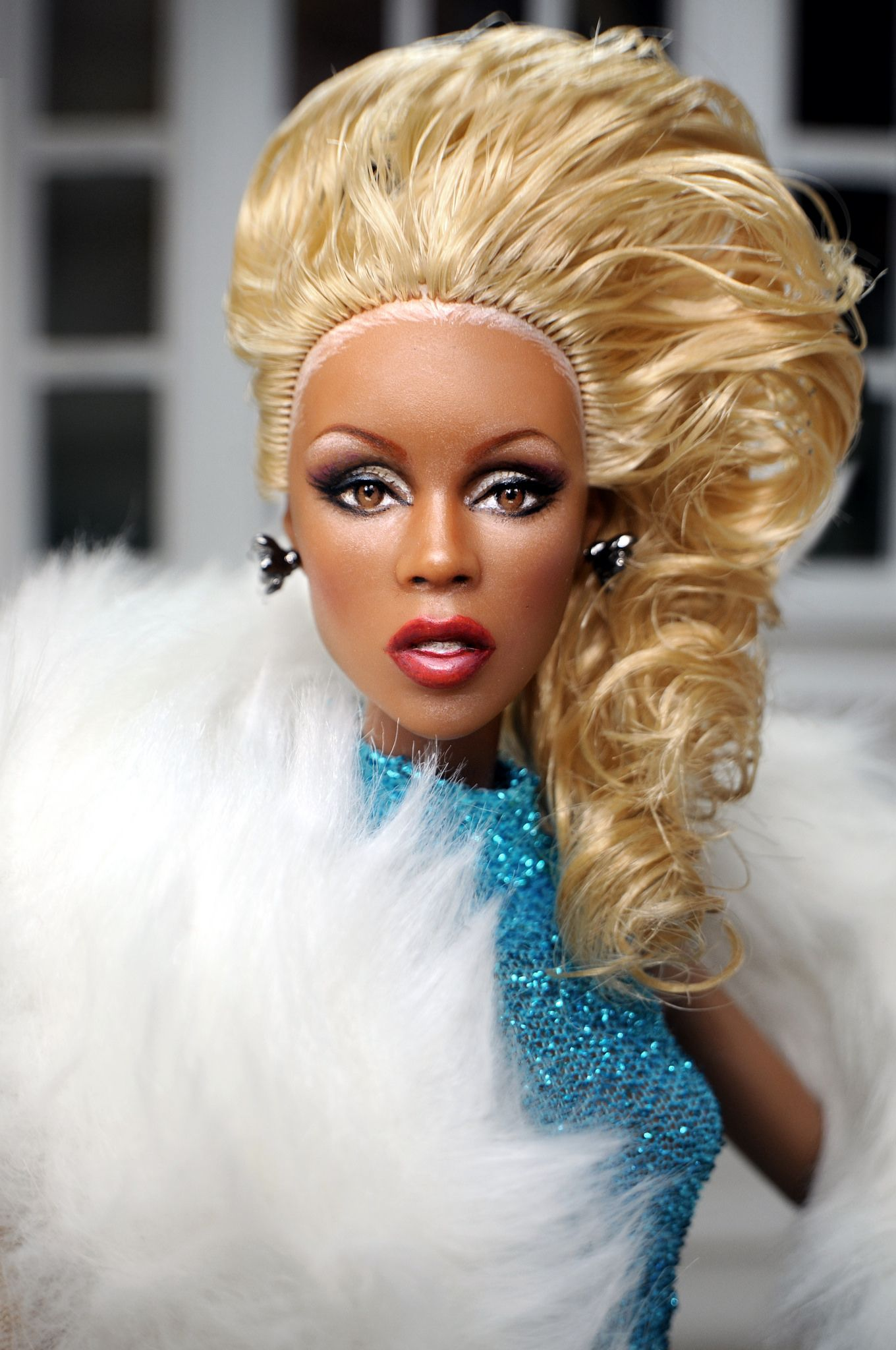 rupaul en barbie