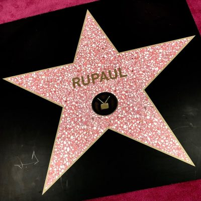étoile rupaul hollywood
